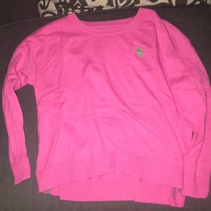 Pink Abercrombie sweater